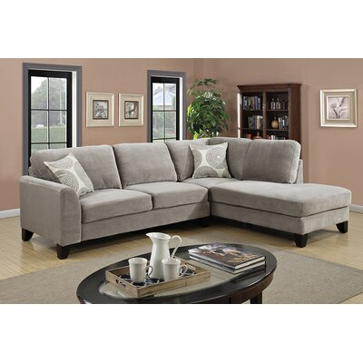 Reese Modular Sectional Upholstery: Dove Gray