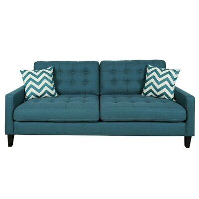 Hamilton Sofa Upholstery: Deep Teal