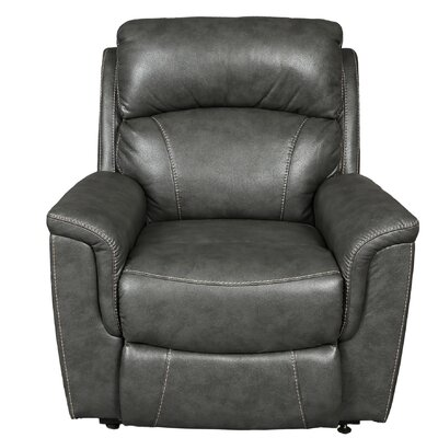 Aurora Breathable Seat Assist Lift Chair Upholstery: Charcoal Gray