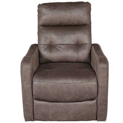 Aurora Breathable Seat Assist Lift Chair Upholstery: Espresso Brown