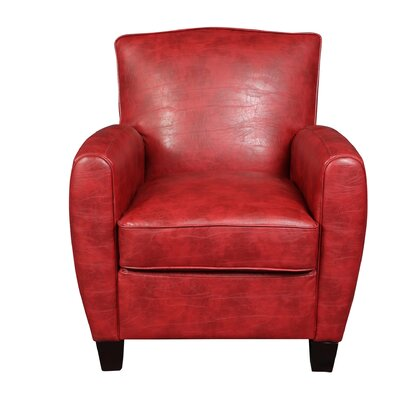 Matamoros Armchair Upholstery: Red