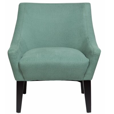Lila Club Chair Upholstery: Light Turquoise