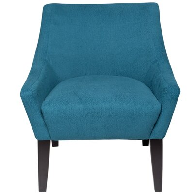 Lila Club Chair Upholstery: Aquamarine