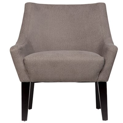 Lila Arm Chair Upholstery: Mica Grey