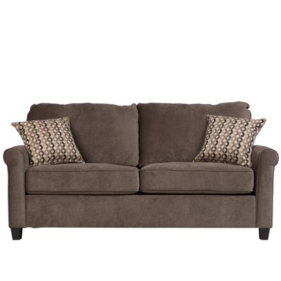 Serena Sleeper Sofa Upholstery: Grey