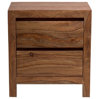 Berrilee 2 Drawer Nightstand