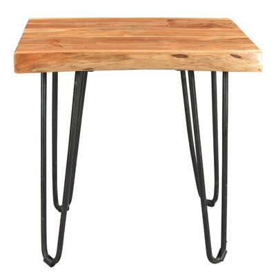 Kourtney Sustainable Live Edge Acacia End Table