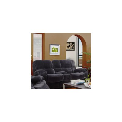 Gracehill Modern Upholstered Reclining Loveseat