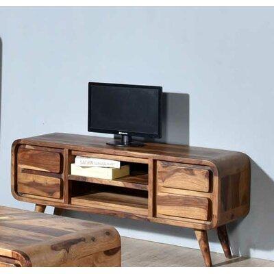 Oslo Mid-century Modern Sheesham TV Stand