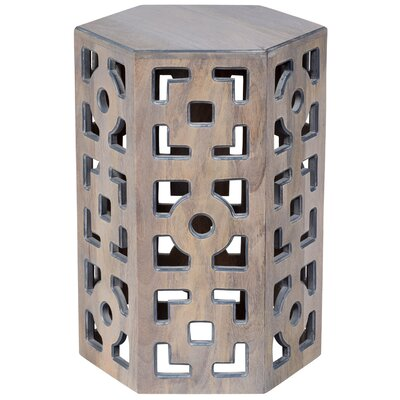 Briela Geometric End Table