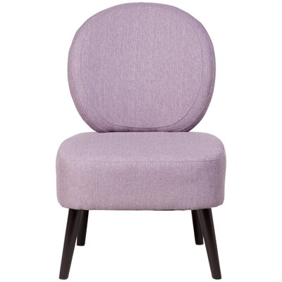 Alijah Side Chair Upholstery: Lilac