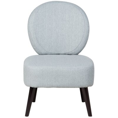 Alijah Side Chair Upholstery: Sky Blue
