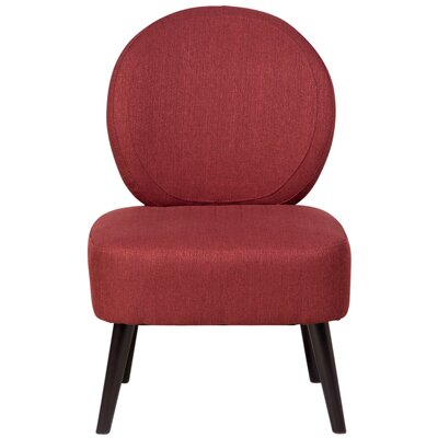 Alijah Side Chair Upholstery: Brick Red