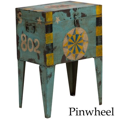 Dinesh Vintage Indian Ballot Box Table
