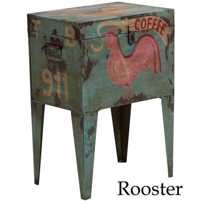 Brandee Vintage Indian Ballot Box Table