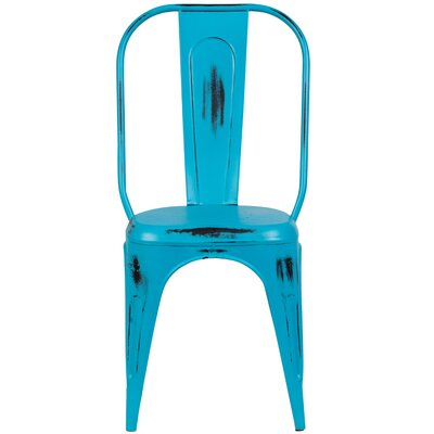 Heffron Side Chair Finish: Teal