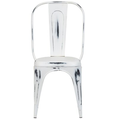 Heffron Side Chair Finish: Cream