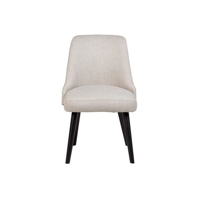 Bakersfield Upholstered Dining Chair Upholstery Color: Light Gray
