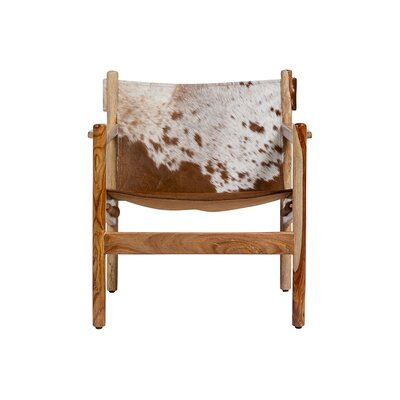 Curtis Cowhide Arm Chair