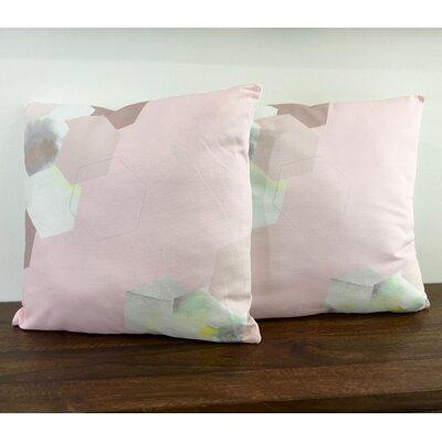 Cotton Throw Pillow Color: Rhubarb Custard