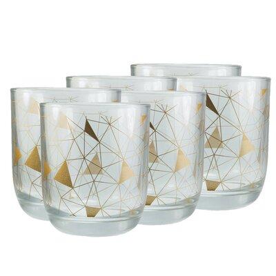 Geometric Triangle 9 oz. Drinkware Set H92202