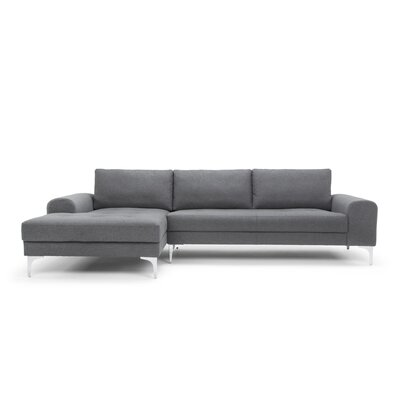 Iroh Solid Wood Frame Sectional Sofa