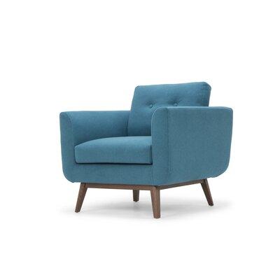 Lena Armchair Upholstery: Aqua Blue
