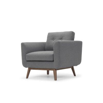 Lena Armchair Upholstery: Dark Gray