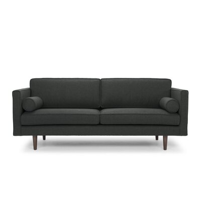 Francesca Sofa Color: Dark Antrazite
