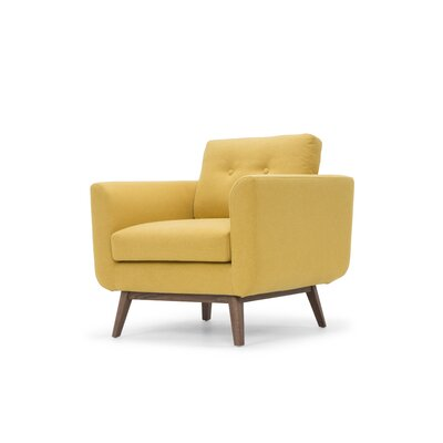 Lena Armchair Upholstery: Curry Yellow