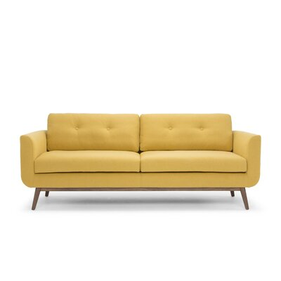 Lena Sofa Color: Curry Yellow