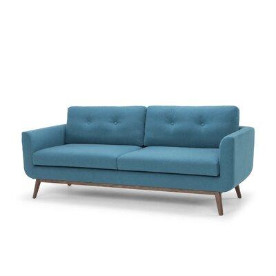 Lena Standard Sofa Upholstery: Aqua Blue