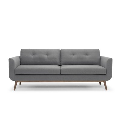 Lena Sofa Color: Dark Gray