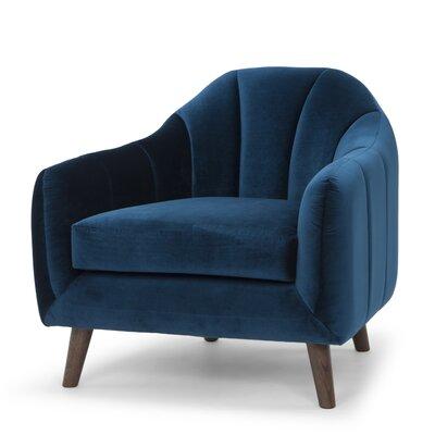 Boevange-sur-Attert Velvet Upholstery Armchair
