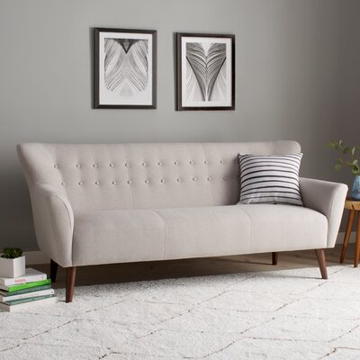 Gabrielle Mid-Century Modern Sofa