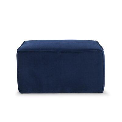 Simona Ottoman Upholstery: Navy Blue