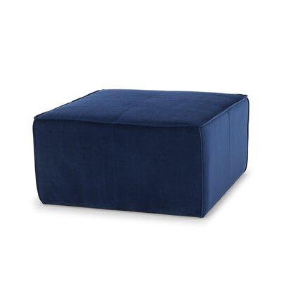 Simona Cocktail Ottoman Upholstery: Navy Blue