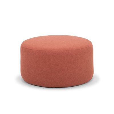 Emily Ottoman Upholstery: Rusty Orange