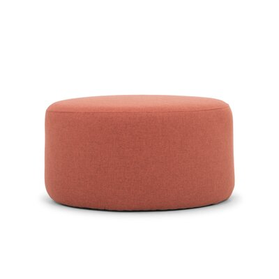 Emily Pouf Upholstery: Rusty Orange