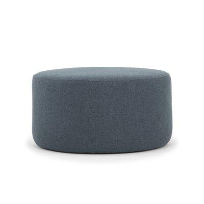 Emily Ottoman Upholstery: Navy Blue