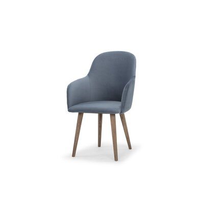 Carlson Upholstered Dining Chair Upholstery Color: Dust Blue