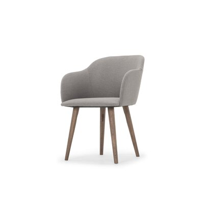 Jensen Upholstered Dining Chair Upholstery Color: Natural
