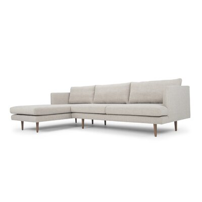 Ronda Sectional Sofa Direction: Left Facing