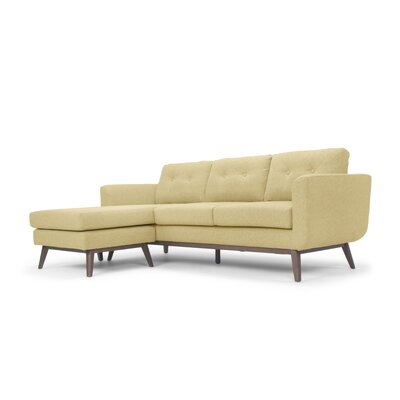 Solveig Reversible Sectional Upholstery: Yellow