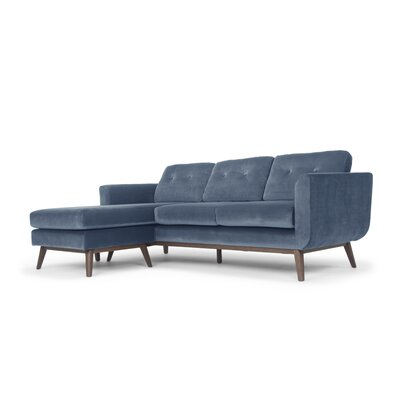 Agartha Sectional Upholstery: Blue