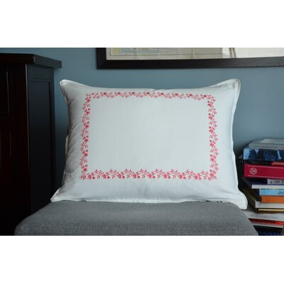 Cape Cod Embroidered Sham Size: Standard