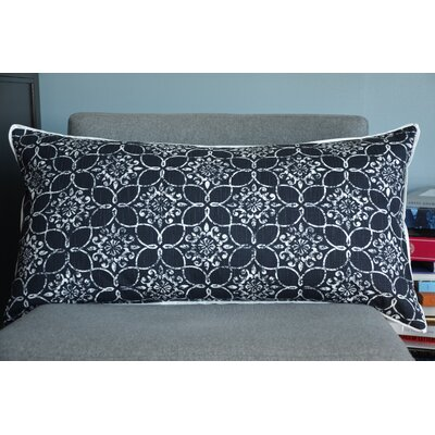 Charleston Cotton Lumbar Pillow