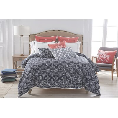 Charleston Duvet Cover Size: King