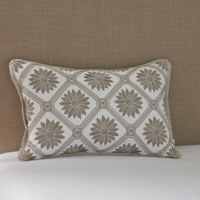 Laurel Wreath Cotton Lumbar Pillow