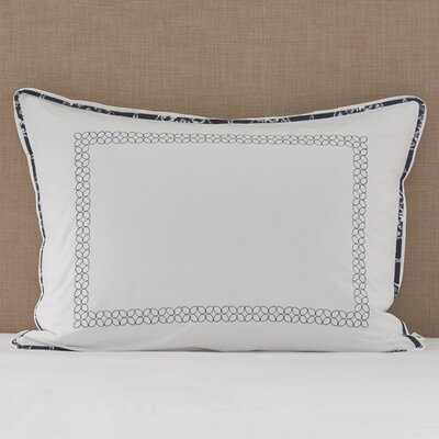 Charleston Embroidered Sham Size: King